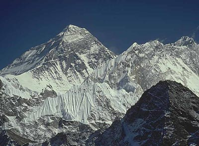 Mt. Everest west face